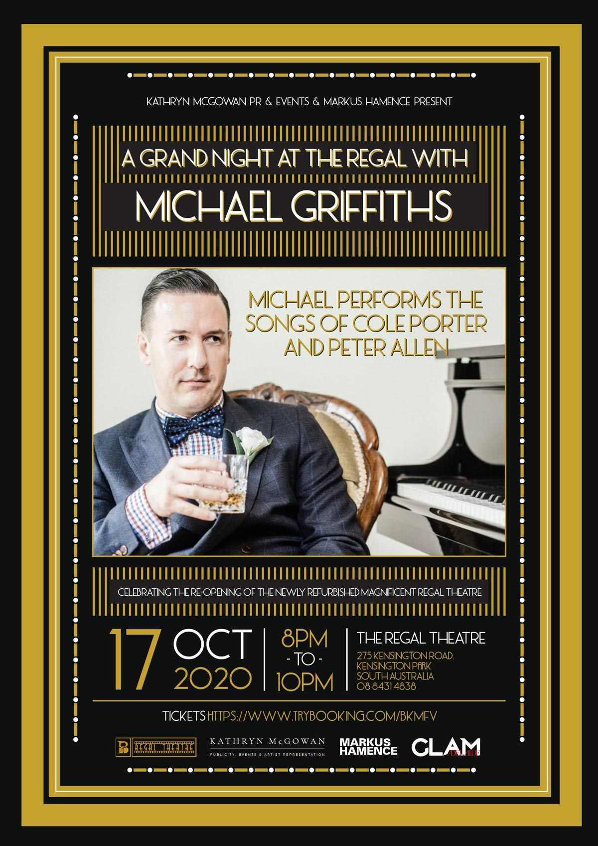 A Grand Night at The Regal with Michael Griffiths Poster